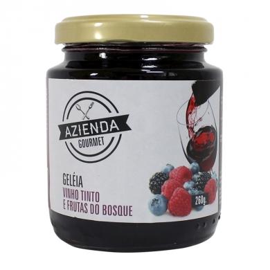 Azienda Gourmet Geleia de Vinho Tinto e Frutos do Bosque 2