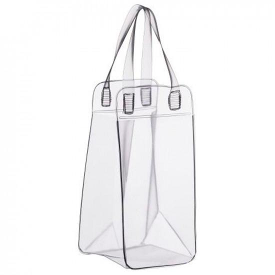 Champanheira Suprema Transparente - Comporta 5 Garrafas. 1