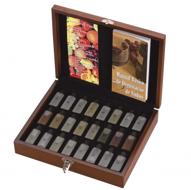 Kit 24 Aromas do Vinho Ref. 03.6