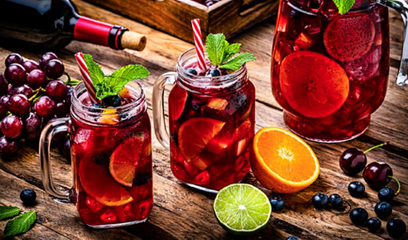 7 Drinks Deliciosos com Vinho